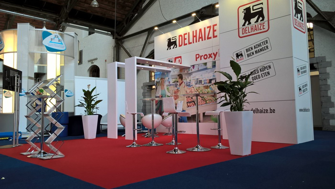 Stand modulaire Delhaize
