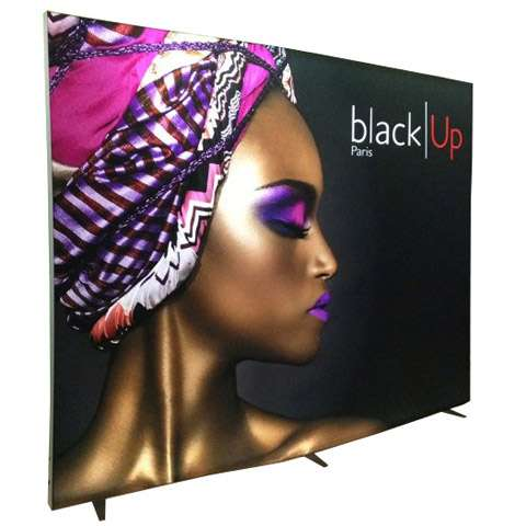 cadre caisson lumineux clip display. Black Bedroom Furniture Sets. Home Design Ideas
